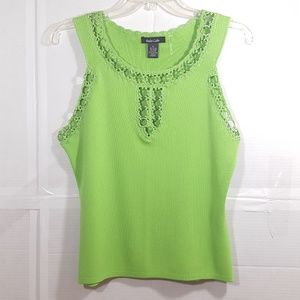 Dolce Cabo Apple Green Tank Top